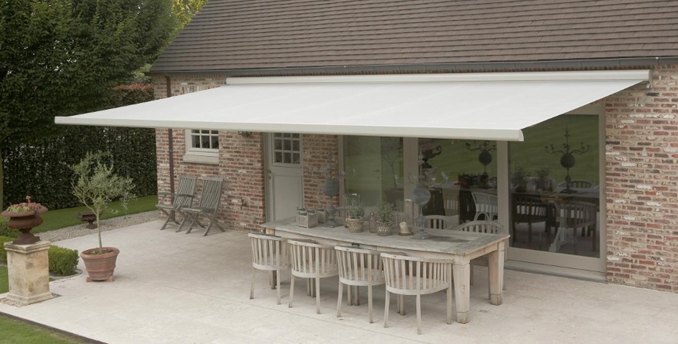 Brustor b25 knikarmscherm kwaliteit hoeft niet duur te zijn - Luifel terras ijzeren smeden ...