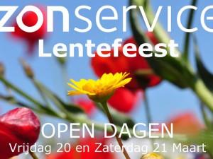 Lentefeest open dagen Vrijdag 20 en zaterdag 21 maart 2015