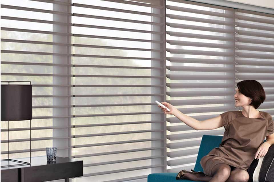Luxaflex Silhouette gordijnen